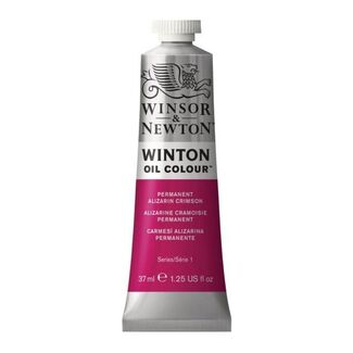 Winsor & Newton Winton Oil Colour 37ml - Permanent Alizarin Crimson