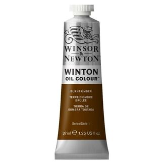 Winsor & Newton Winton Oil Colour 37ml - Burnt Umber