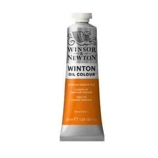 Winsor & Newton Winton Oil Colour 37ml - Cadmium Orange Hue
