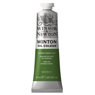 Winsor & Newton Winton Oil Colour 37ml - Chrome Green Hue