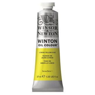 Winsor & Newton Winton Oil Colour 37ml - Lemon Yellow Hue