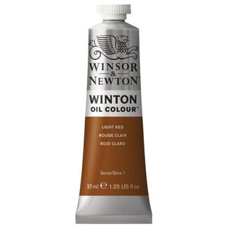 Winsor & Newton Winton Oil Colour 37ml - Light Red