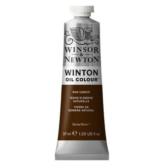 Winsor & Newton Winton Oil Colour 37ml - Raw Umber