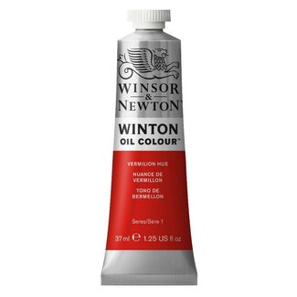 Winsor & Newton Winton Oil Colour 37ml - Vermillion Hue