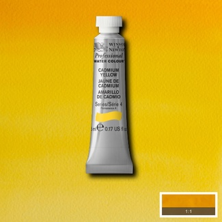 Winsor & Newton Artists' Watercolour 5ml S4 - CADMIUM YELLOW