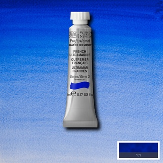 Winsor & Newton Artists' Watercolour 5ml S2 - FRENCH ULTRAMARINE