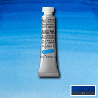 Winsor & Newton Artists' Watercolour 5ml S1 - WINSOR BLUE (GREEN SHADE)