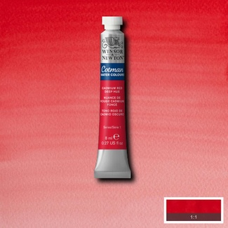 Winsor & Newton Cotman Watercolour Paint 8ml - Red Deep