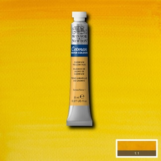 Winsor & Newton Cotman Watercolour Paint 8ml - Cadmium Yellow