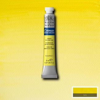Winsor & Newton Cotman Watercolour Paint 8ml - Lemon Yellow