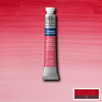 Winsor & Newton Cotman Watercolour Paint 8ml - Rose Madder