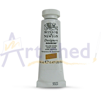 Winsor & Newton Designers' Gouache Colour 14ml S1 - Yellow Ochre
