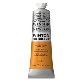 Winsor & Newton Winton Oil Colour 37ml - Cadmium Yellow Deep Hue