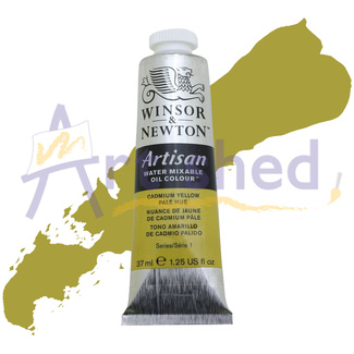 Winsor & Newton Artisan Water Mixable Oil Colour 37ml S1 - Cadmium Yellow Pale Hue