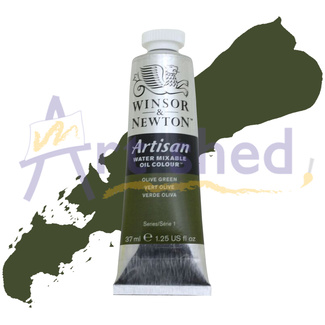 Winsor & Newton Artisan Water Mixable Oil Colour 37ml S1 - Olive Green