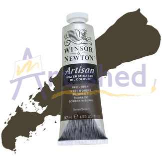 Winsor & Newton Artisan Water Mixable Oil Colour 37ml S1 - Raw Umber