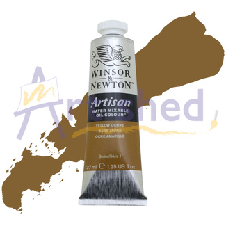 Winsor & Newton Artisan Water Mixable Oil Colour 37ml S1 - Yellow Ochre