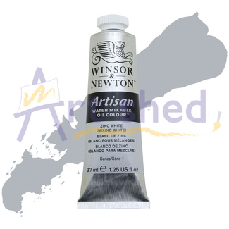 Winsor & Newton Artisan Water Mixable Oil Colour 37ml S1 - Zinc White