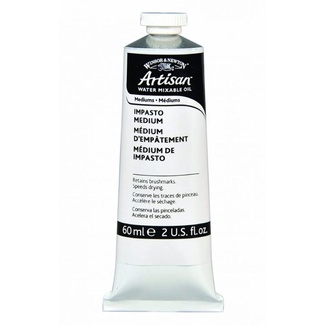 Winsor & Newton 60ml - Artisan Impasto Oil Medium (Water Mixable)