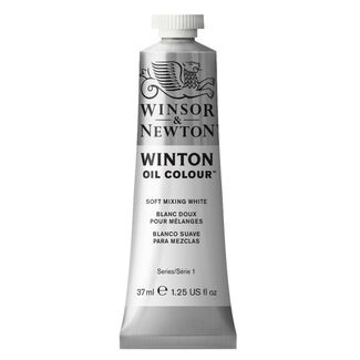 Winsor & Newton Winton Oil Colour 37ml - Soft Mixing White