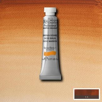 Winsor & Newton Artists' Watercolour 5ml S1 - BROWN OCHRE