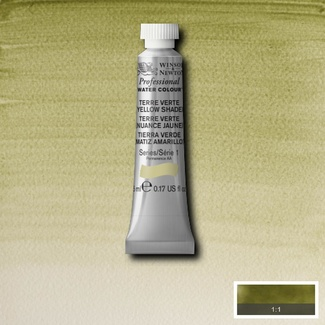 Winsor & Newton Artists' Watercolour 5ml S1 - TERRE VERTE (YELLOW SHADE)