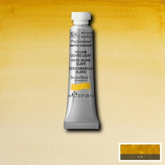 Winsor & Newton Artists' Watercolour 5ml S1 - YELLOW OCHRE LIGHT