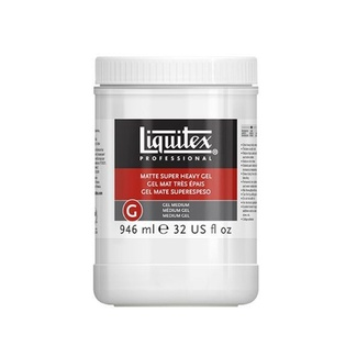 Liquitex 946ml - Matte Super Heavy Gel Medium