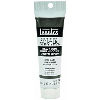 Liquitex Heavy Body Acrylic Paint 59ml S1 - Mars Black 276