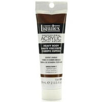 Liquitex Heavy Body Acrylic Paint 59ml S1 - Burnt Umber 128