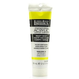 Liquitex Heavy Body Acrylic Paint 59ml S1 - Yellow Light Hansa 411
