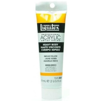 Liquitex Heavy Body Acrylic Paint 59ml S2 - Indian Yellow 324