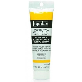 Liquitex Heavy Body Acrylic Paint 59ml- Cadmium Yellow Deep Hue 163 Series 2