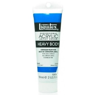 Liquitex Heavy Body Acrylic Paint 59ml S2 - Cerulean Blue Hue 470