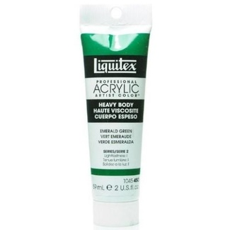 Liquitex Heavy Body Acrylic Paint 59ml S2 - Emerald Green 450