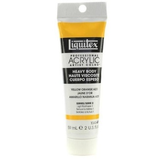 Liquitex Heavy Body Acrylic Paint 59ml - Yellow Orange Azo 414 Series 2