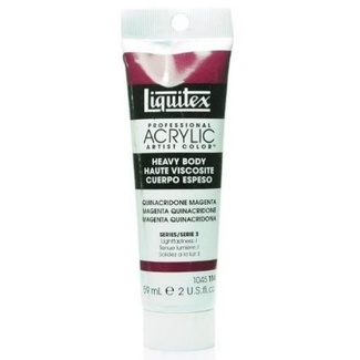 Liquitex Heavy Body Acrylic Paint 59ml S3 - Quinacridone Magenta 114