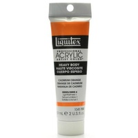 Liquitex Heavy Body Acrylic Paint 59ml S4 - Cadmium Orange 150