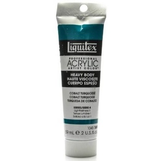 Liquitex Heavy Body Acrylic Paint 59ml S4 - Cobalt Turquoise 169