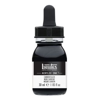 Liquitex Professional Acrylic Ink 30ml - Carbon Black 337