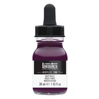 Liquitex Professional Acrylic Ink 30ml - Deep Violet 115