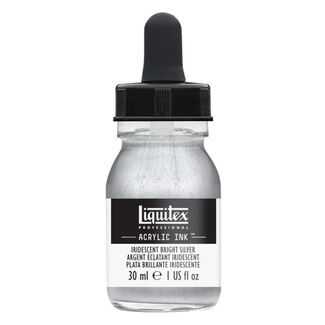 Liquitex Professional Acrylic Ink 30ml - Iridescent Bright Silver 236
