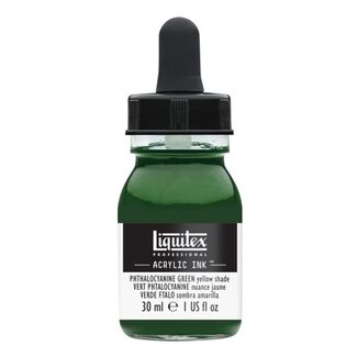 Liquitex Professional Acrylic Ink 30ml - Phthalo Green (Yellow Shade) 319