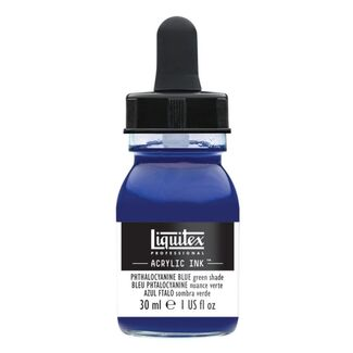 Liquitex Professional Acrylic Ink 30ml - Phthalo Blue (Green Shade) 316