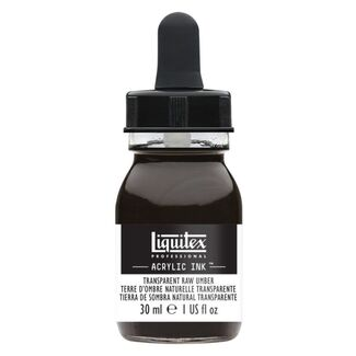 Liquitex Professional Acrylic Ink 30mls - Transparent raw umber 333