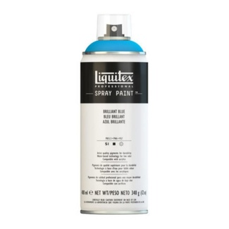 Liquitex 400ml Professional Acrylic Spray Paint - Brilliant Blue