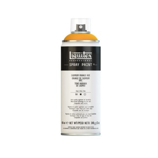 Liquitex 400ml Professional Acrylic Spray Paint - Cadmium Orange Hue