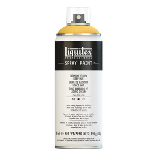 Liquitex 400ml Professional Acrylic Spray Paint - Cadmium Yellow Deep Hue