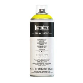 Liquitex 400ml Professional Acrylic Spray Paint - Cadmium Yellow Light Hue