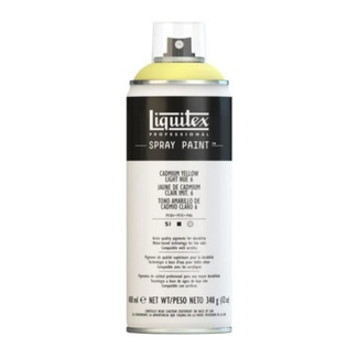 Liquitex 400ml Professional Acrylic Spray Paint - Cadmium Yellow Light Hue 6